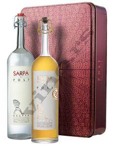 Poli Distillerie Sarpa Grappa + Sarpa Oro Grappa ( Poklon pakovanje No.2 )