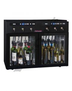 Vinski dispenzer- enomat DVV6  - za 6 boca, 2 zone