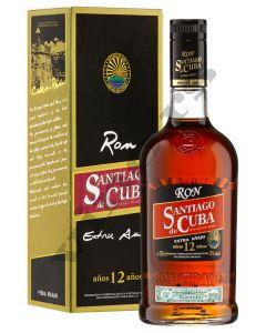 Ron Santiago de Cuba 12 Anos Extra Anejo Rum