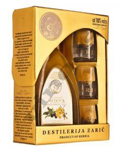 Zarić Medena rakija od šljiva sa medom u kutiji