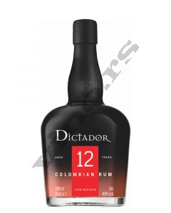 Dictador Rum 12 year old