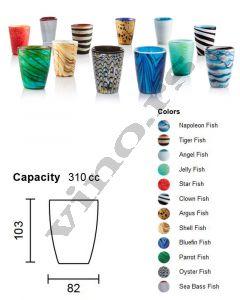 Italesse čaša za vodu Mares Tumbler Mix 1   310 cc