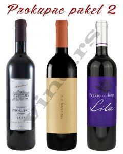 Paket Prokupac 2: Boje Lila, Ivanović i Tri Morave crveno