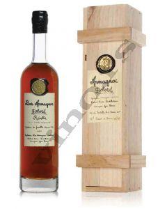 Armagnac Recolte 1968 Wooden Box