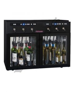 Vinski dispenzer- enomat DVV6  - za 6 boca, 2 zone